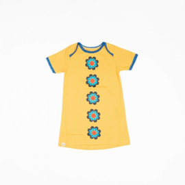 Jurk / Dress Albababy, Emmie Flower Dress Bright gold