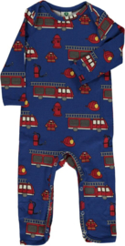Jumpsuit / bodysuit Smafolk, Firetruck true blue