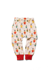 Broek / joggers  Little Green Radicals, Brushed Cotton Tiger 6-9m of 9-12m