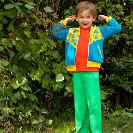 Broek Albababy, Rock it Box pants Kelly Green