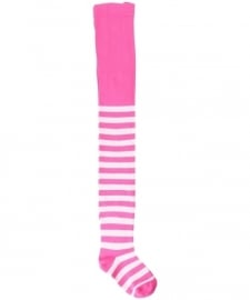 Maillots, stockings Maxomorra, Cerise plain stripes