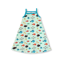 Jurk / sundress JNY, Swimming fish 80 t/m 104