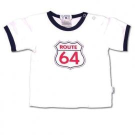 T-shirt Claesen`s, route 64, Maat L = 68-74