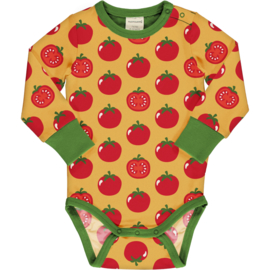Romper / body LS Maxomorra, Tomato