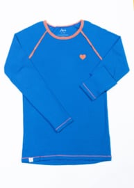 Longsleeve Ladies AiA all I adore by Alba of Denmark, My all Time favorite Sleeve Snorkel blue