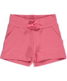 Broek / sweatshorts Maxomorra, Rosé pink