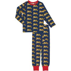 Pyjama Set LS  Maxomorra, Cheetah