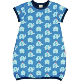 Jurk / Dress Balloon SS Maxomorra, Elephant Friends 110-116