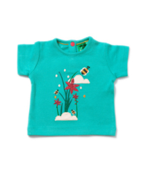 T-shirt Little Green Radicals, Cornish Copper Applique Tee 9-12m