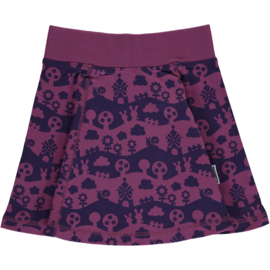 Rok / Skirt  vipp spin Maxomorra, Landscape Purple mono 86-92, 98-104 of 122-128