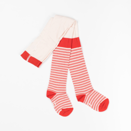 Maillot, Kousebroek Albababy, Karla Tight orange.com striped 1-2yr