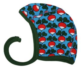 Hat/ baby cap/ Bonnet Duns, Radish Azure blue