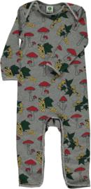 Jumpsuit / bodysuit Smafolk, Mushroom grey Mix glitter