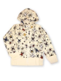 Hoody zip college JNY , Happy spider