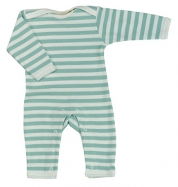 Babypakje Organics For Kids, stripes blue 3-6mnd
