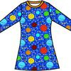 Jurk / Dress LS DUNS Sweden, Lost in Space blue