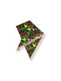 pompom scarf JNY, Greenery
