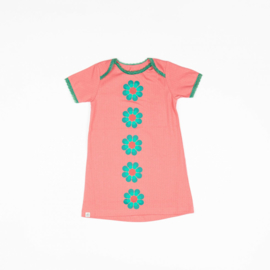 Jurk / Dress Albababy, Emmie Flower Dress tea Rose 80