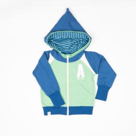 Hoodie Albababy, Robin Zipper Hoodie Classic Blue