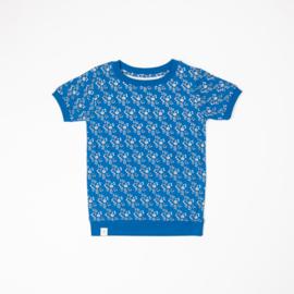 T-shirt Albababy, Alberte snorkel blue liberty love