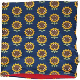 Sjaal, Scarf  velour Maxomorra, Sunflower