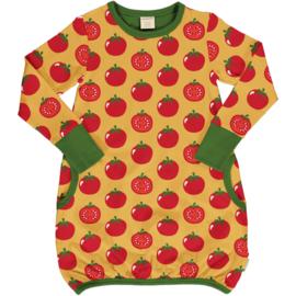 Jurk / Dress Balloon LS Maxomorra, Tomato