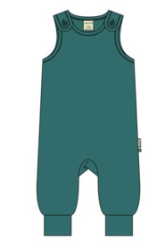 Playsuit Velours Maxomorra, teal