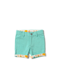 Broek / Shorts  Little Green Radicals, Pale Turquoise Shorts