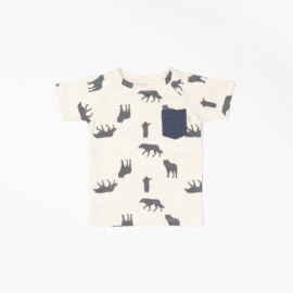 T-shirt Albababy, Sigurd Solidate  mood indigo playing wolves