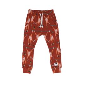 Pants / trousers Mullido, Orangutan Rust