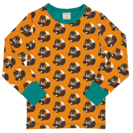 T-shirt long / longsleeve Maxomorra, Squirrel
