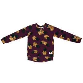 Sweatshirt Mullido, Pineapple magenta