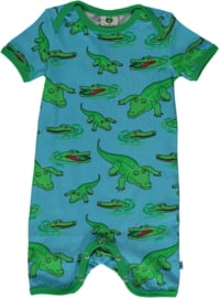 Jumpsuit / shortsuit Smafolk, Crocodile blue grotto