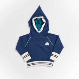 Hoody Albababy, Habian Hood Blouse Blue print   .    tot 146!