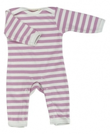 Babypakje Organics For Kids, stripes pink 3-6mnd