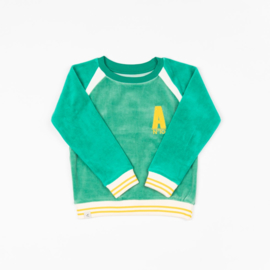 Longsleeve Sweat Albababy, Sean Sweat Pepper Green