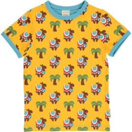 T-shirt Maxomorra, Camel Caravan   -    Al vanaf 74-80