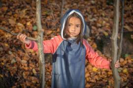 Jurk Albababy, Hope Hood Dress Mood Indigo 86 of 98