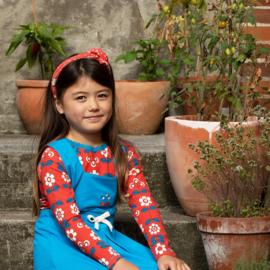 Longsleeve Albababy, Ghita Blouse Spicy Orange Fairy Tail Flowers