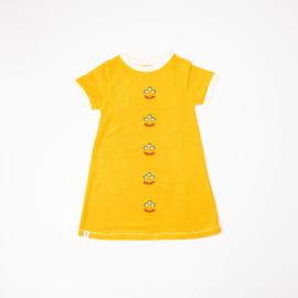 Jurk / Dress Albababy, Smilla old gold