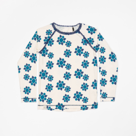 Longsleeve Albababy, Ghita Blouse Seaport big  wildFlower