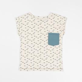 T-shirt Albababy, Mads Antique White Triangle 86 of 98