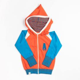 Hoodie Albababy, Robin Zipper Hoodie Spicey Orange 146