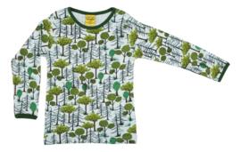 T-shirt Long  Duns Sweden, Enchanted Forest tot 158!