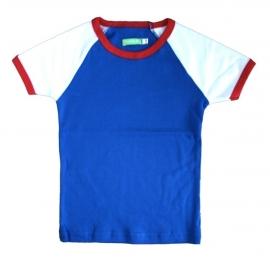 T-shirt Lily-Balou, blauw-rood 68, 74