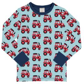 T-shirt long / longsleeve Maxomorra, Tractor