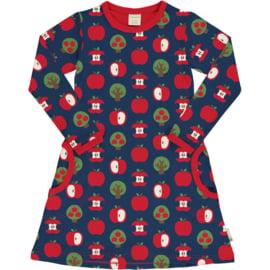 Jurk / Dress LS Maxomorra, Apple 86-92