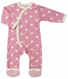 Babypakje Organics For Kids, roze met witte stip