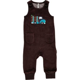 Playsuit embroid Maxomorra, Log Truck 68