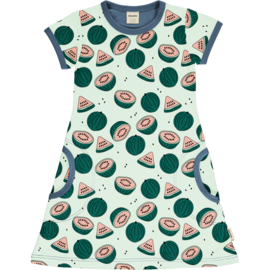 Jurk / Dress SS Meyadey by Maxomorra, Watermelon